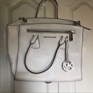 White Michael Kors Bag